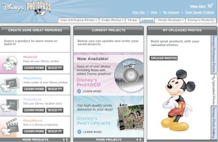 Disney Photo Pass Upload