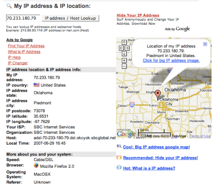 IP Address Lookup Locator