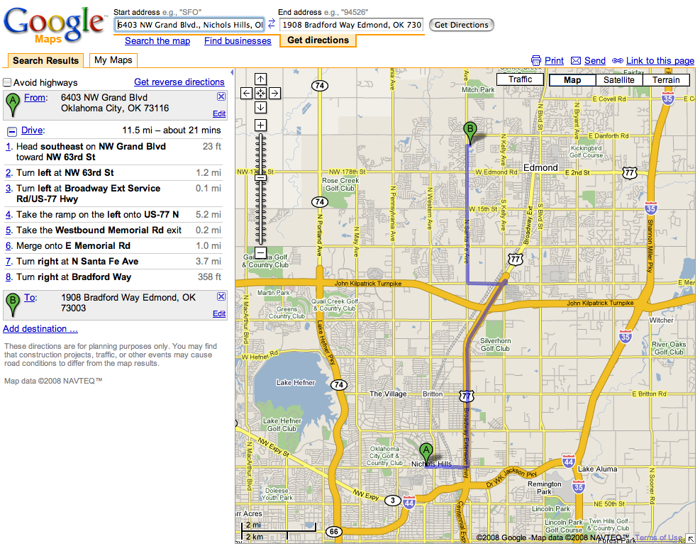 Google's Local Advertising Embedded With Google Maps