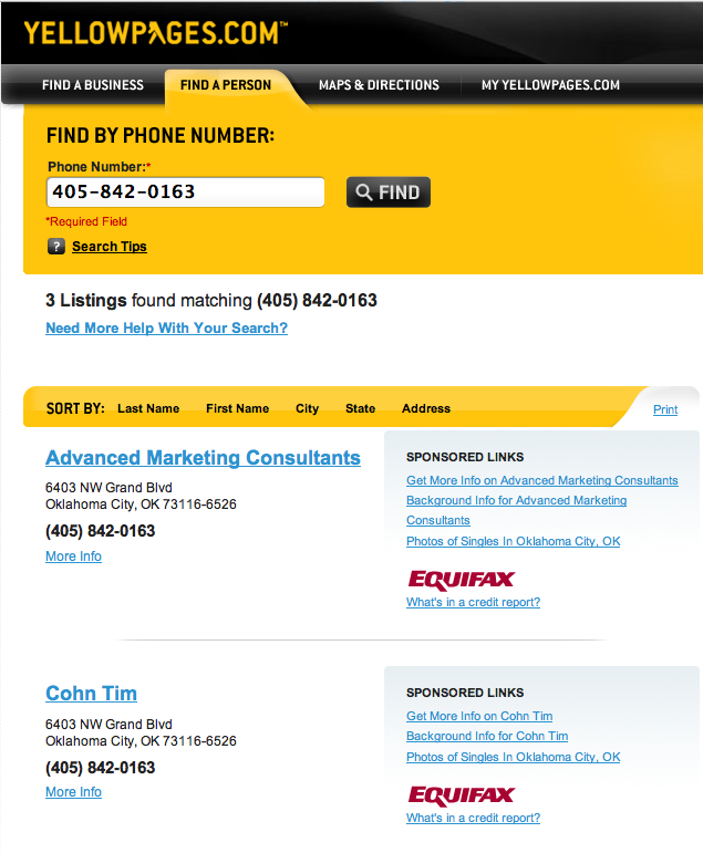 Yellow Pages | Search Marketing Communications