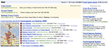 Google Local Sydney
