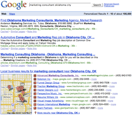 Marketing Consultant Oklahoma City