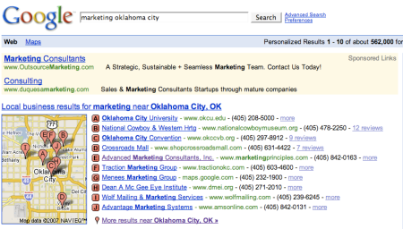 Marketing Oklahoma City