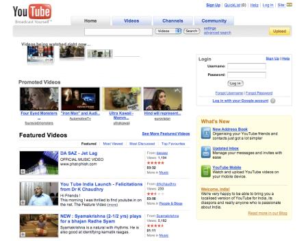 YouTube.co.in