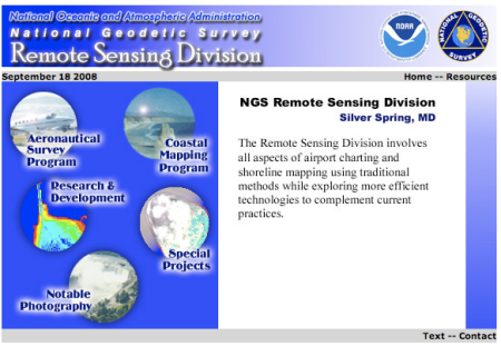 NOAA Remote Sensing
