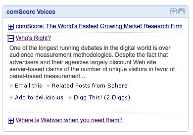 iGoogle Viewer Feature
