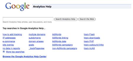 Google Analytics Help Forum