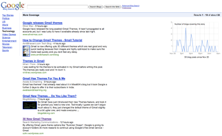 Google Blog Search More Coverage