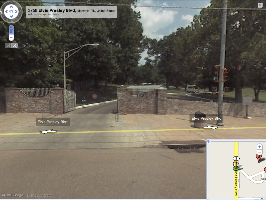 Graceland in Google Street View | Search Marketing ...