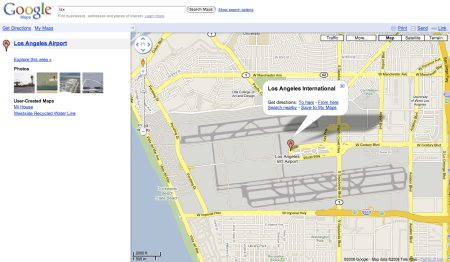 LAX Map
