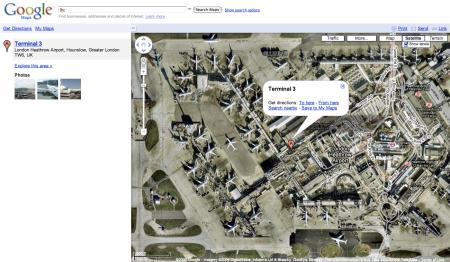 LHR London Heathrow Satellite View