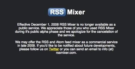 RSS Mixer