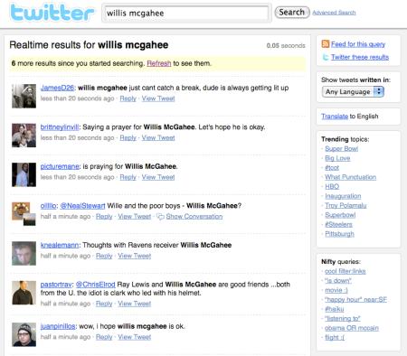 Willis McGahee Twitter