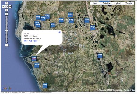 WhereImAt.com Satellite View