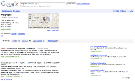 Ads on Google Maps Overview