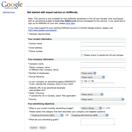 Google Adwords Expert Advice