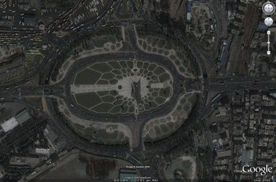 Tehran Google Earth