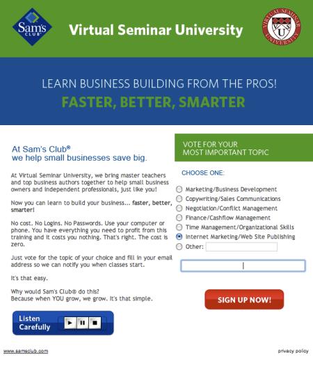 Virtual Seminar University
