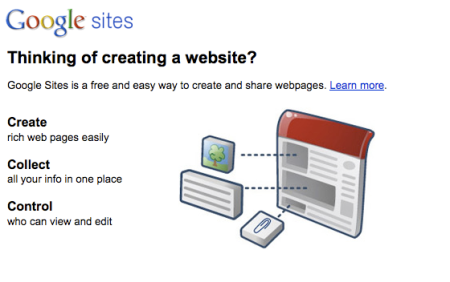 What is Google Sites?