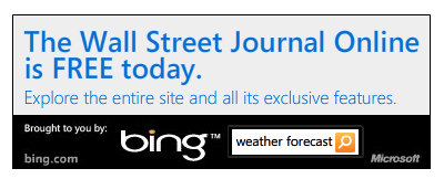 Bing Free Wall Street Journal