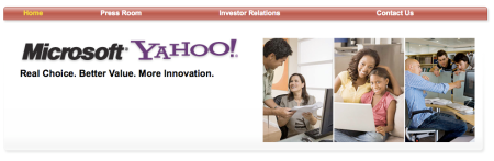 Microsoft Yahoo Search Deal