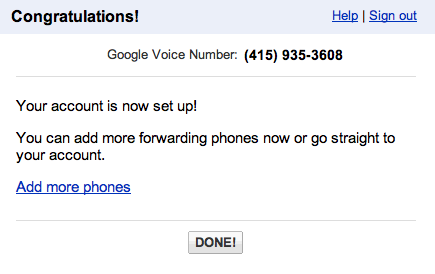 Search Google Voice and compile list of all available numbers!