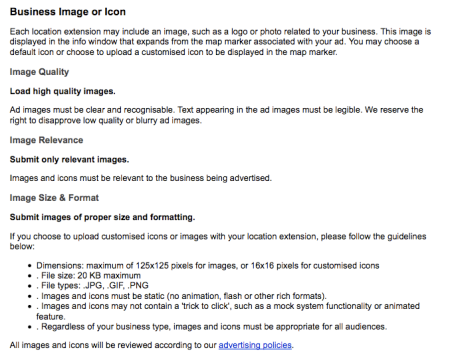Google Adwords Business Image or Icon