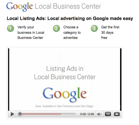 Google Local Listing Ads