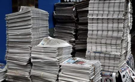 Newspaper Circulation Drops