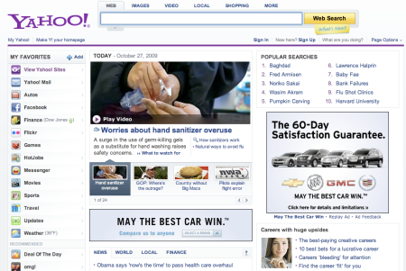 Yahoo Attention