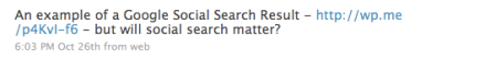 Will Social Search Matter