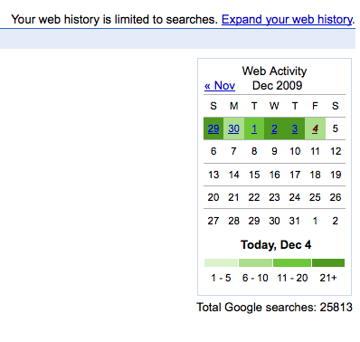 Total Google Searches 25,813