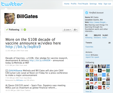 Bill Gates Bit.ly