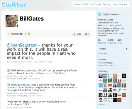 Bill Gates On Twitter