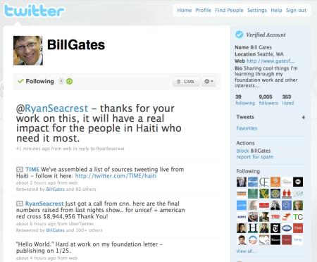 Bill Gates On Twitter