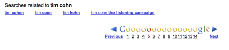 Tim Cohn The Listening Campaign