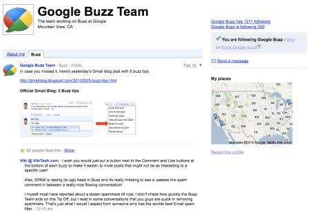 Google Buzz Team