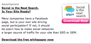 Social Is The Next Search