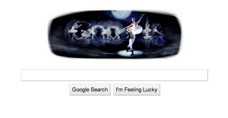 Google Doodle Tchaikovsky