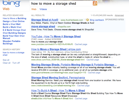 Bing How to Move A Storage Shed