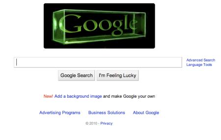 Google Holography Doodle Dennis Gabor