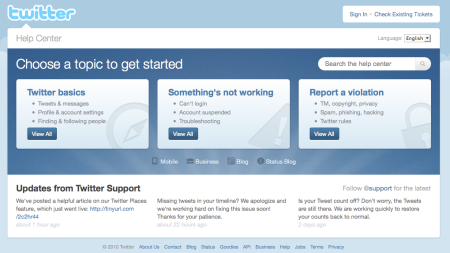 Twitter Help Center