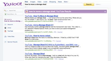 Yahoo YouTube Results