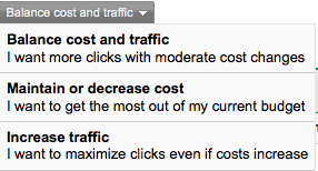 Balance cost and traffic
