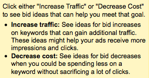 Increase Traffic Decrease Cost