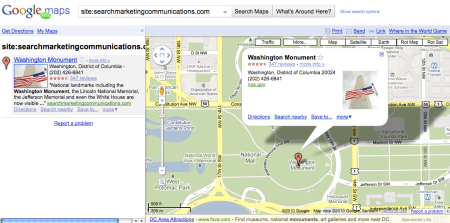 Site Operator Google Maps