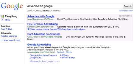 Purple Adwords