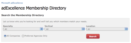 adExcellence Membership Directory