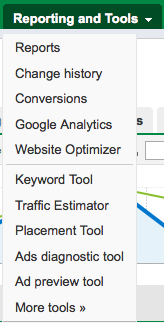 Adwords Reporting and Tools