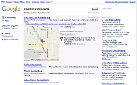 Google AdWords Location Extensions